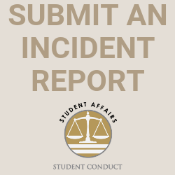 Submit a student conduct incident report